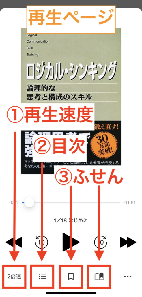audiobook.jp再生ページ